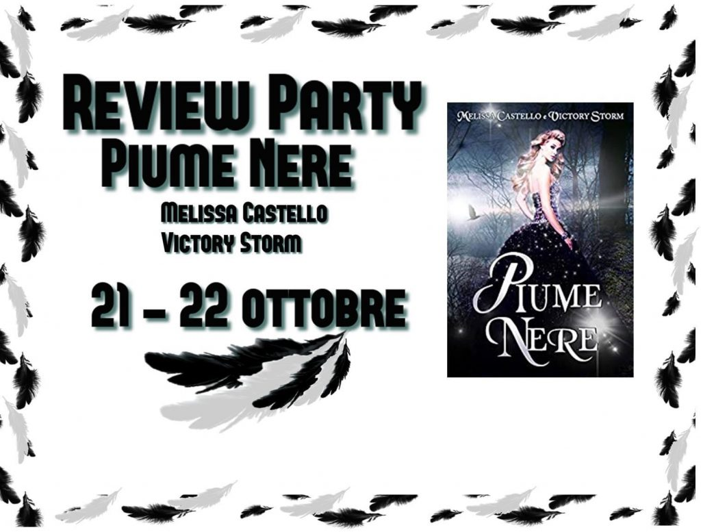 review party piume nere